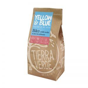 Bika - jedlá sóda, sóda bicarbona 1000 g Yellow & Blue / Tierra Verde