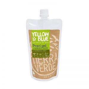 Prací gél z mydlových orechov Vavrín kubébový 250 ml Yellow & Blue - Tierra Verde