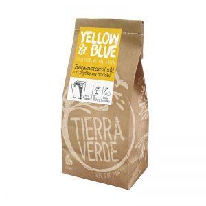 Regeneračná soľ do umývačky riadu 2 kg Yellow & Blue - Tierra Verde
